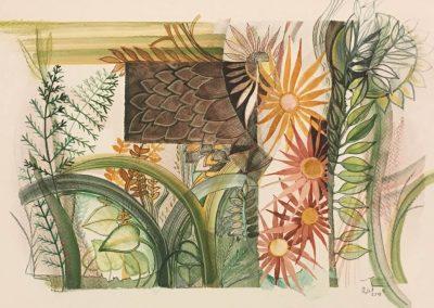 L. Ritók Nóra: Jegyzet a kertről (24X34 cm)