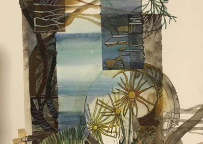 L. Ritók Nóra: Kilátás a tengerre (30X22 cm)