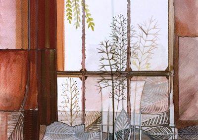 L. Ritók Nóra: Reggeli gyógyszer (34x24 cm)