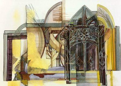 L. Ritók Nóra: Valaha templom volt (23X34 cm)